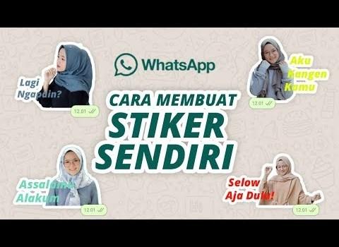 Cara Membuat Stiker Whatsapp di Android