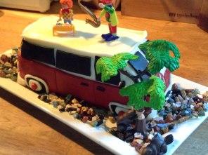 custom cake for El Jose by Coco Loco
