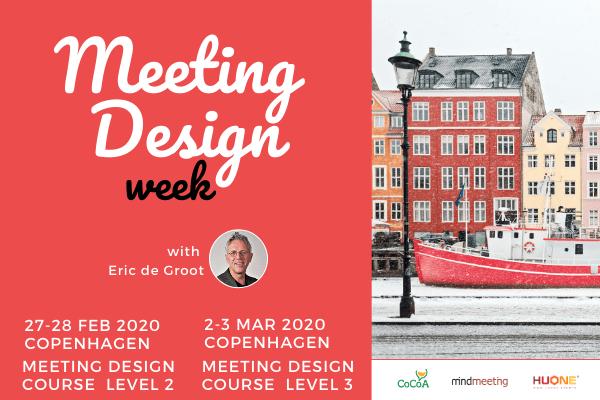 MeetingDesign Courses Copenhagen Eric de Groot Denmark meeting design week