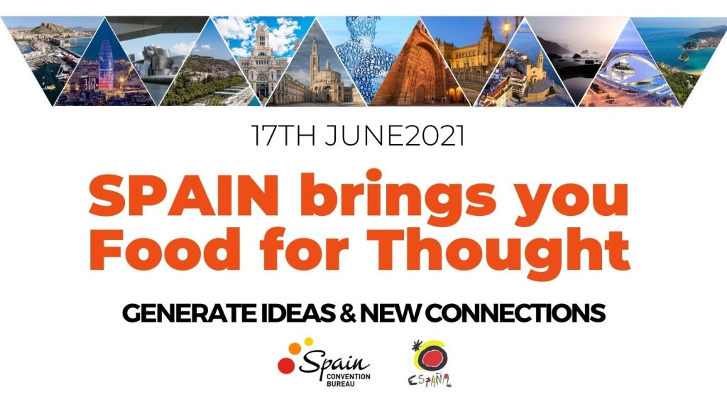event online Spain brings you Food for Thought convention bureau