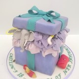 """""""My Favourite Things"""" Birthday Cake by Cocoa & Whey Cakes in Winchester, Hampshire"""