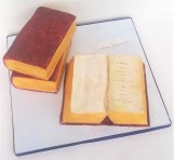 """Jane Austen's """"Emma"""" Party Cake by Cocoa & Whey Cakes in Winchester, Hampshire"""