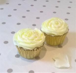 Wedding Favours - Rose & Almond Cupcakes