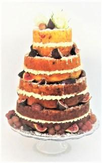 Naked Savoury Cake