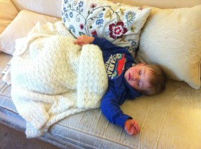 In the end it was all too much for a poorly boy