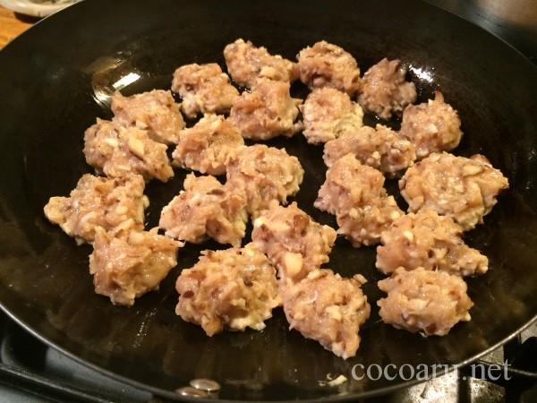 味噌入り鶏つくね豆乳シチュー03