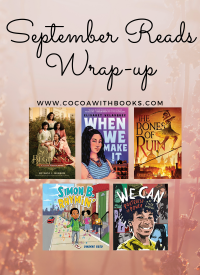September Reading Goals Wrap-up: Back to School & Book Tours