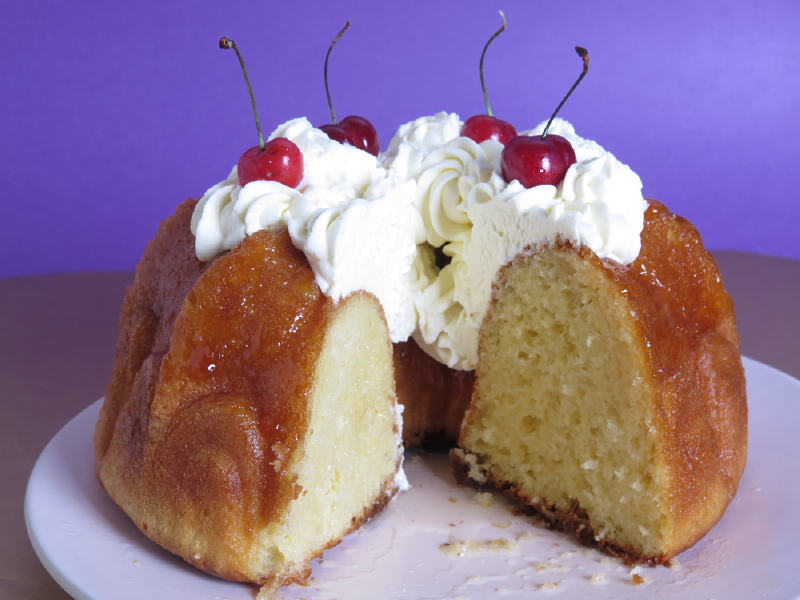 Savarin Au Chantilly Savarin With Chantilly Cream Cocobeat