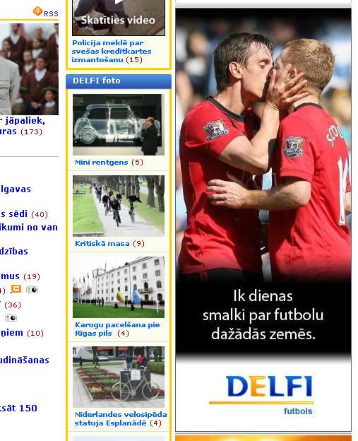 futbols skūpsts