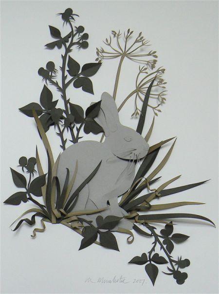 mezs-un-plavas-3d-papira-gleznas