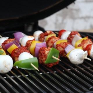 Vegetarian Kebabs