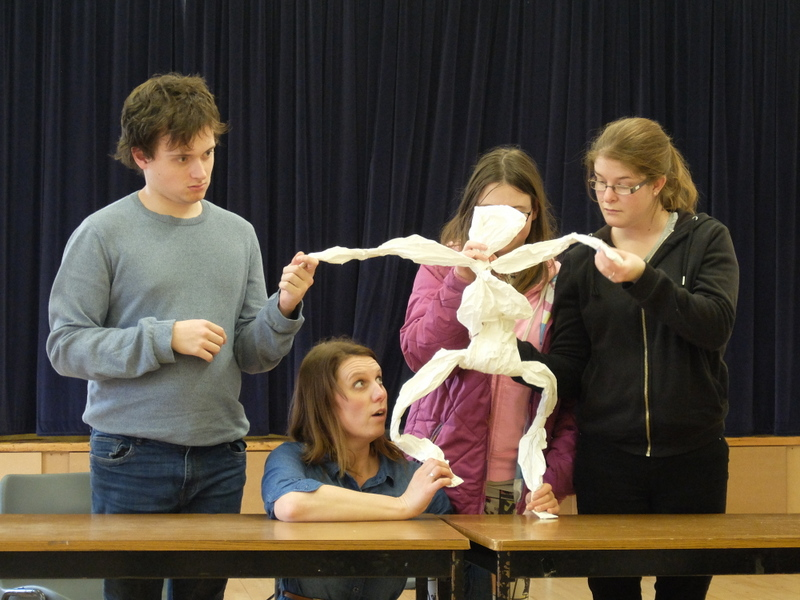 Paper puppet workshop