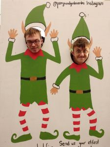 PSD Christmas elves!