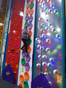 Sports Adventure 3, Tuesday 4th June, Clip and climb