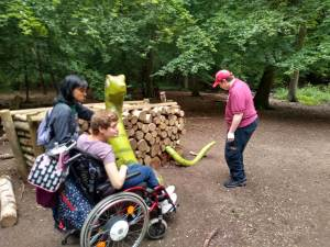 Sports adventure 2, Monday 24th June, Thorndon Forest