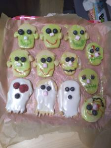 Thursday 24th October, Personal Progress 3- Spooky biscuits