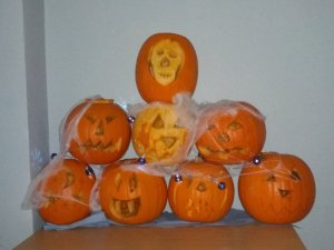 Friday 25th October, Personal progress 4 – pumpkin catching and birthday celebrations