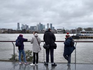Monday 25th November, Sports Adventure 1b – ride the rails to Greenwich