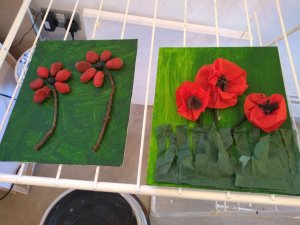 Tuesday 5th November, CoCoCreatives Enterprise – 3D poppies