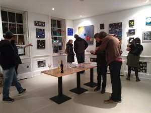 Friday 8th November, inner space : outer space preview evening