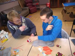 Tuesday 3rd December, Community Inclusion & Volunteering – volunteering and crackers!