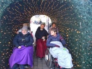 Monday 2nd December, Sports Adventure 2 – Christmas themed walk.