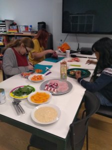 Monday February 10th 2020, Developing Independence 3 – Healthy Eating Project