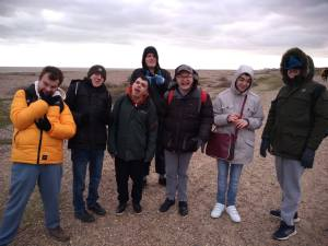 Monday 17th February 2020, Sports Adventure 1- Aldeburgh to Thorpeness.