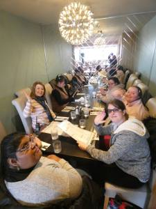 Monday 2nd March 2020, CoCoCreatives – Bowling and lunch.