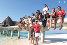 Associates of Coco Palm Dhuni Kolhu eager to begin the lagoon cleaning