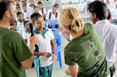 Presentation at Thulhadhoo school
