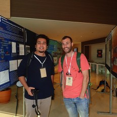 Umair Shahid from WWF-Pakistan and Martin Stelfox from ORP