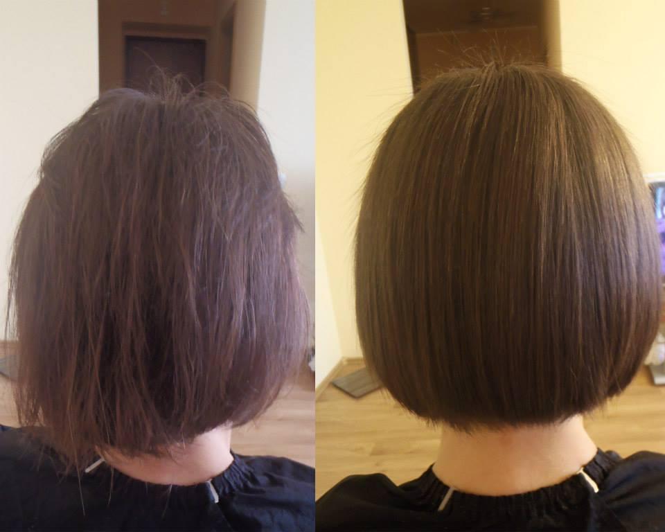 Brazilian Hair Straightening Cocochoco