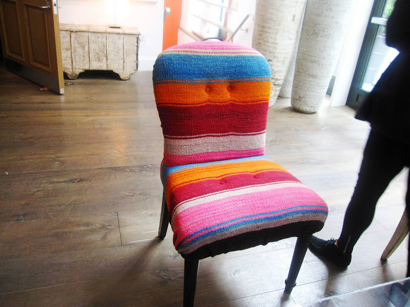 Hotel Furniture For Sale >> DESIGN IDEA: A COLORFUL MEXICAN BLANKET COVERED CHAIR