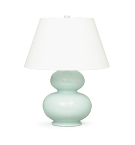Delicieux Curvy Light Blue Table Lamp From Mitchell Gold + Bob Williams