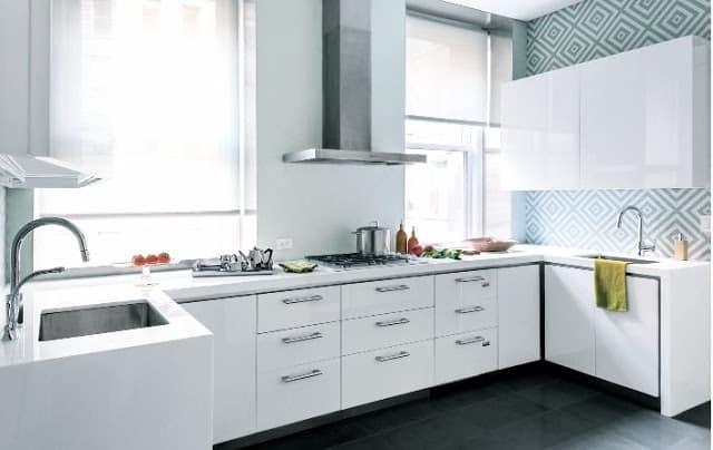 Kitchen Week Geometric Backsplash Cococozy