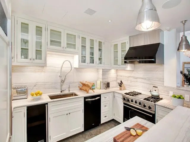 incredible white kitchen cabinets black appliances | UGLY OR PRETTY - WHITE CABINETS, BLACK APPLIANCES?! | COCOCOZY