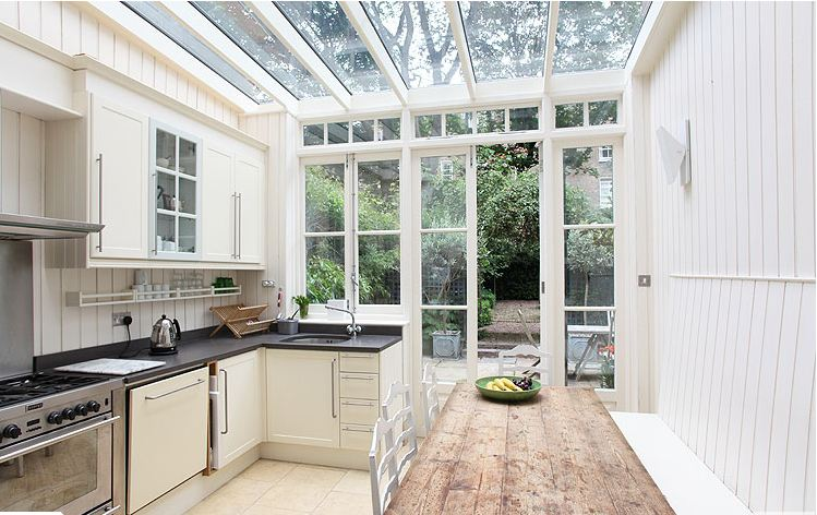 A Fab Glass Enclosed Kitchen In A London Home Cococozy
