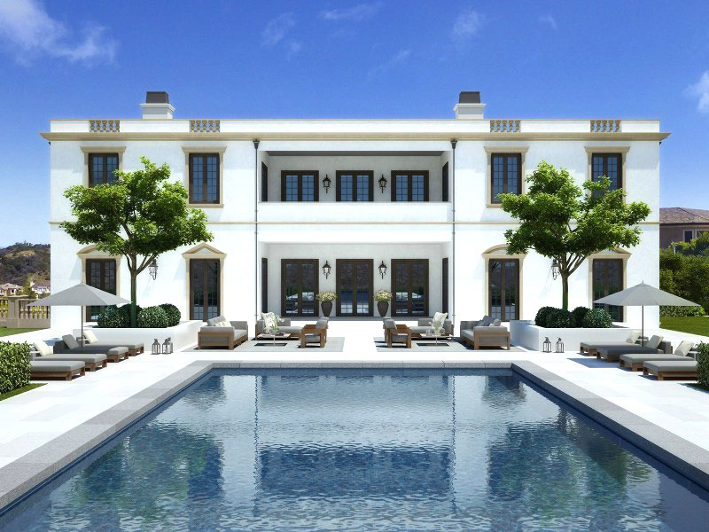 7 los angeles mansions jay z beyonce for Luxury houses for rent in los angeles