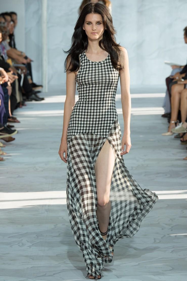 Best Dresses Gingham Check Diane von Furstenberg dress