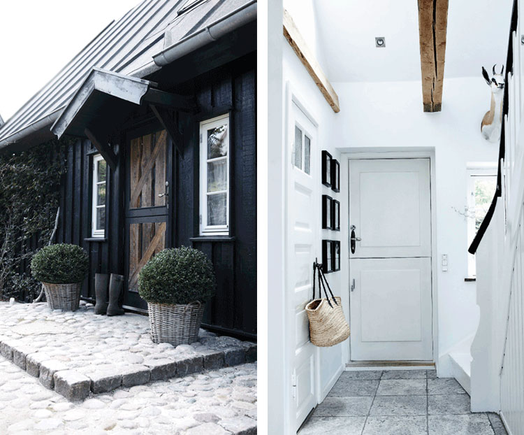 nordic rustic cottage black exterior - Cottage Design Ideas