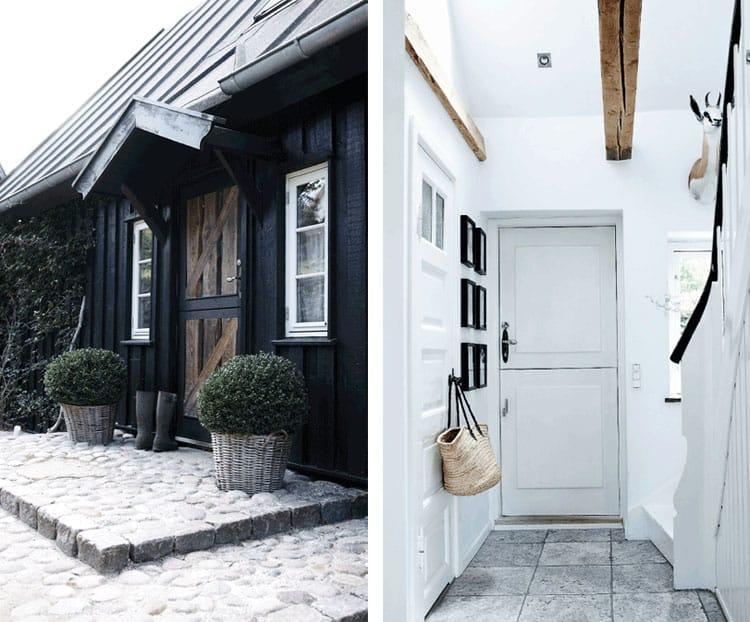 nordic rustic cottage black exterior & NORDIC RUSTIC COTTAGE   7 GREAT DESIGN IDEAS pezcame.com