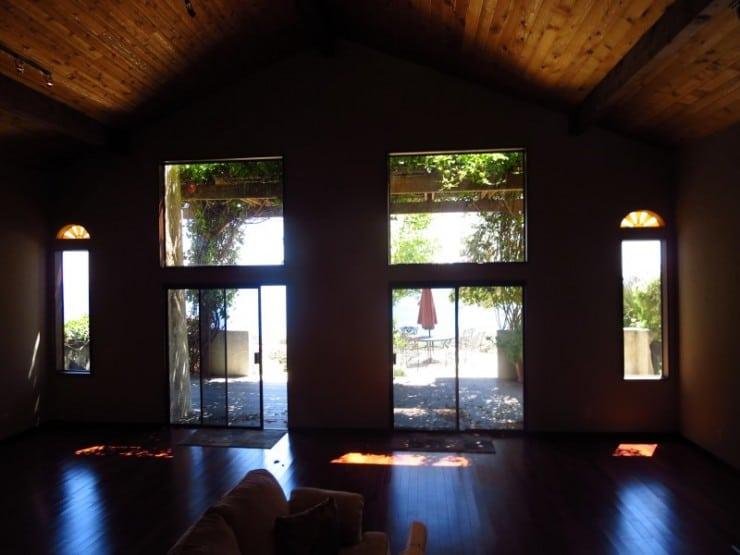 home remodel windows doors living room before