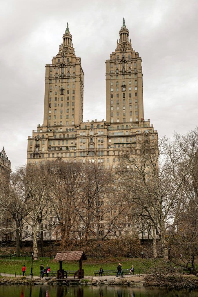Tour Demi Moore $75 Million Dollar Apartment San Remo Exterior