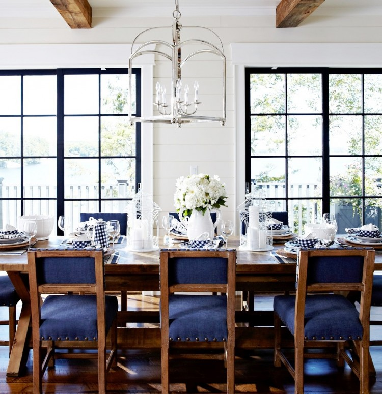 Modern Country Cottage Dining Room Decor