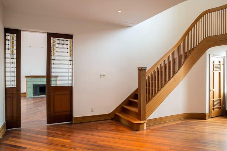 Tour Demi Moore $75 Million Dollar Apartment Foyer Stairs