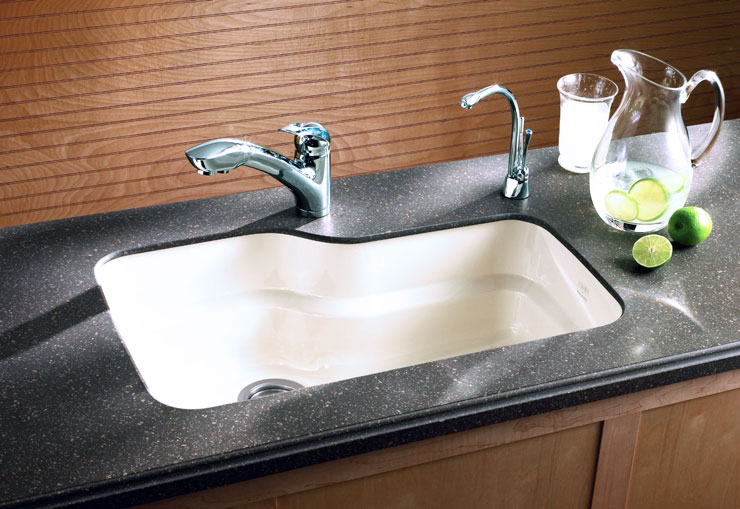 Franke -Orca Fireclay Sink -Installation of this fireclay ...