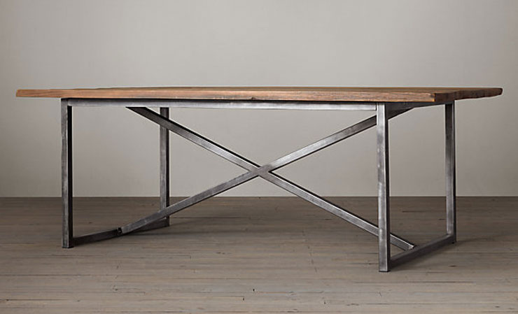 restoration-hardware-Salvaged-Boatwood-Rectangular-Dining-Table-cococozy