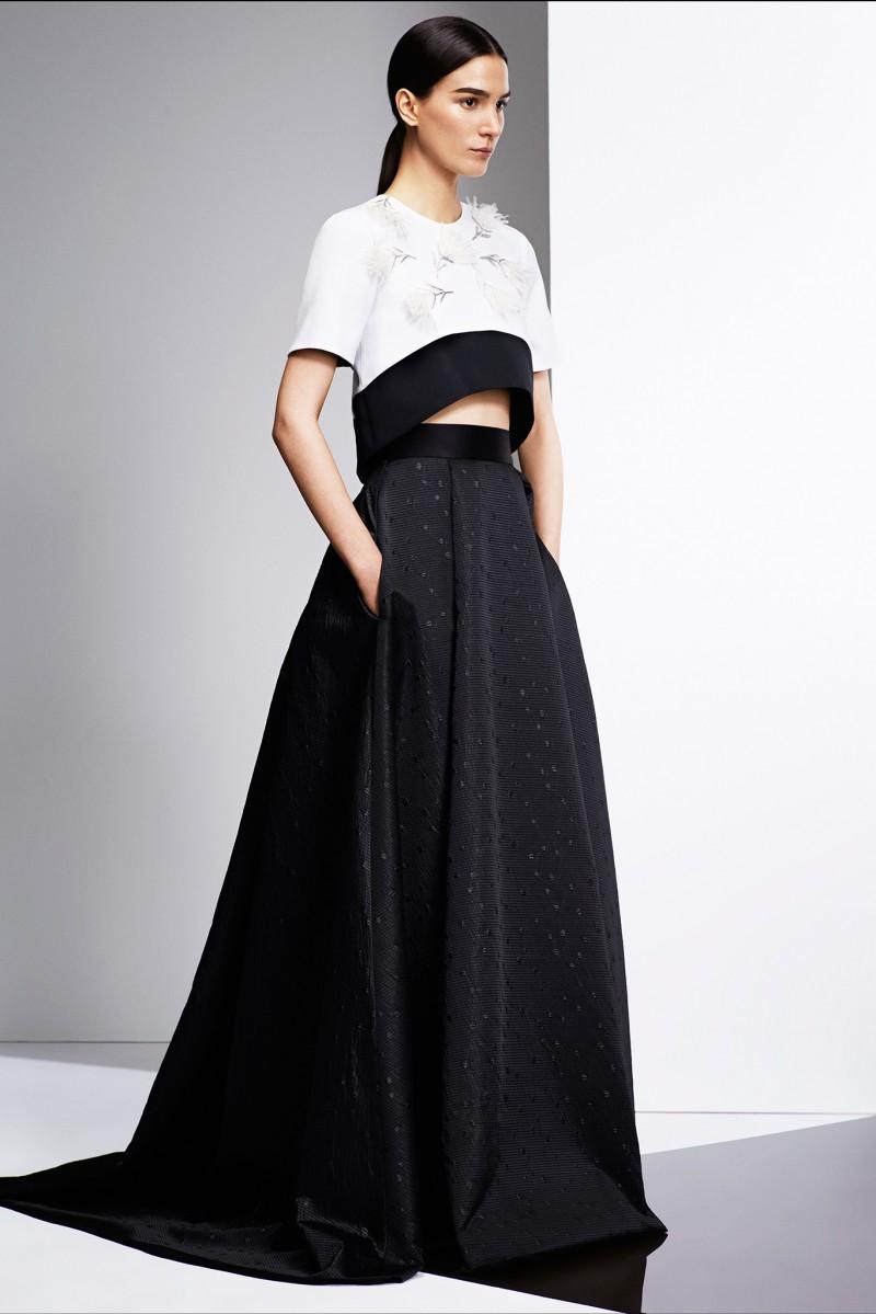 Prabal Gurung Gown Two&345;tone dress
