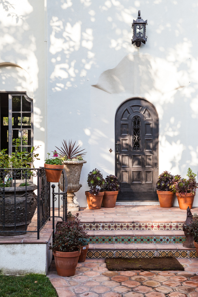 arches in a doorway
